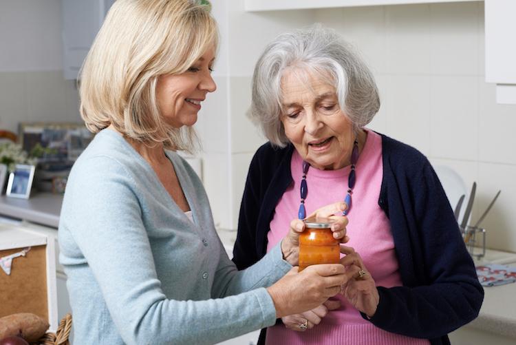 Helping Senior Neighbor